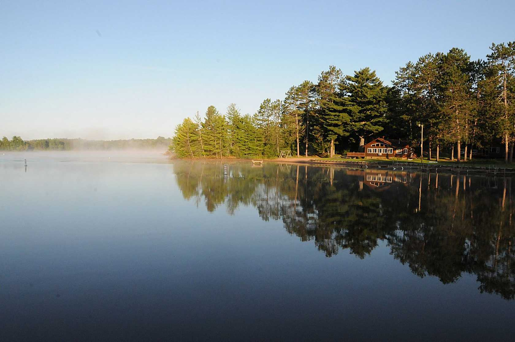 Hayward wisconsin community information real estate for Cabins on lake michigan in wisconsin